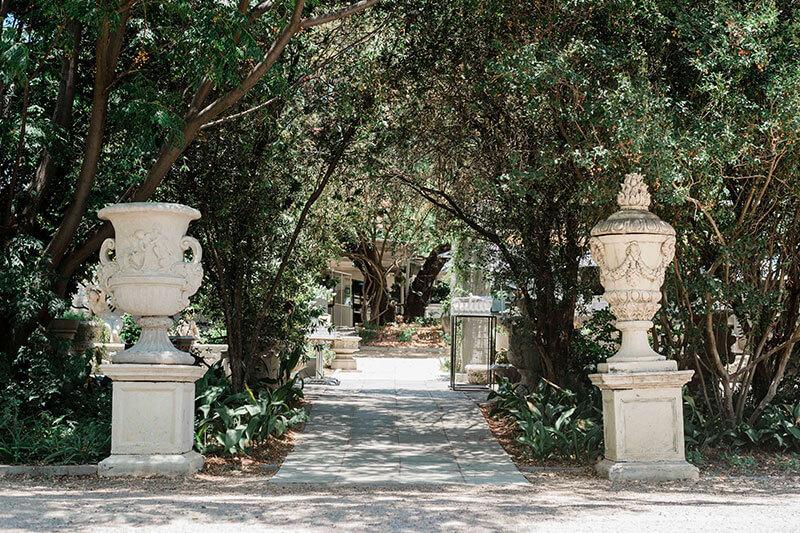 L'antico Giardino Weddings - the kitchen lantico giardino outside 2