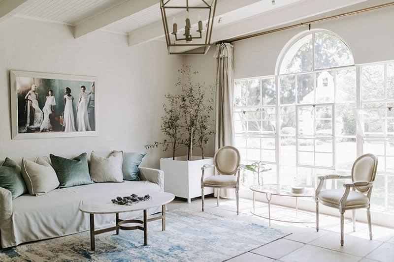 White Light Weddings - white light bridal room